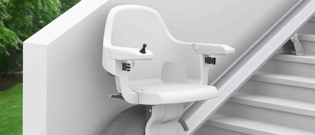 Chaises / Fauteuils monte-escaliers extérieurs PMR / privatifs et ERP