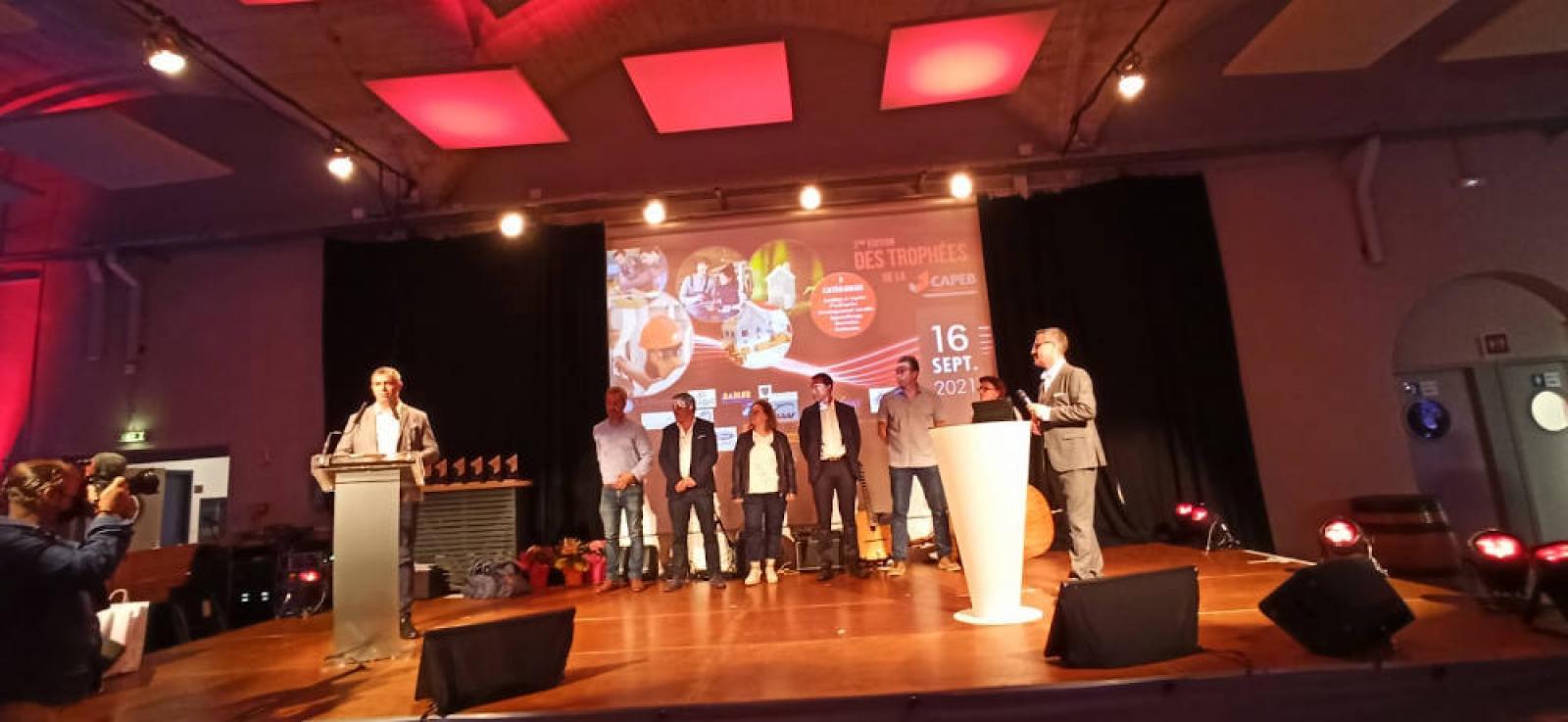 Visuel : SÉMA présent aux Trophées de la CAPEB
