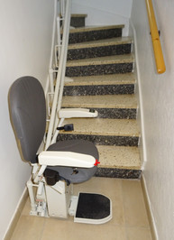 Chaise monte-escalier CURVE tournant - MALISSARD 26120