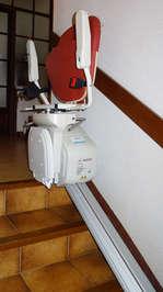 Monte-escalier droit Horizon - LES VANS 07140