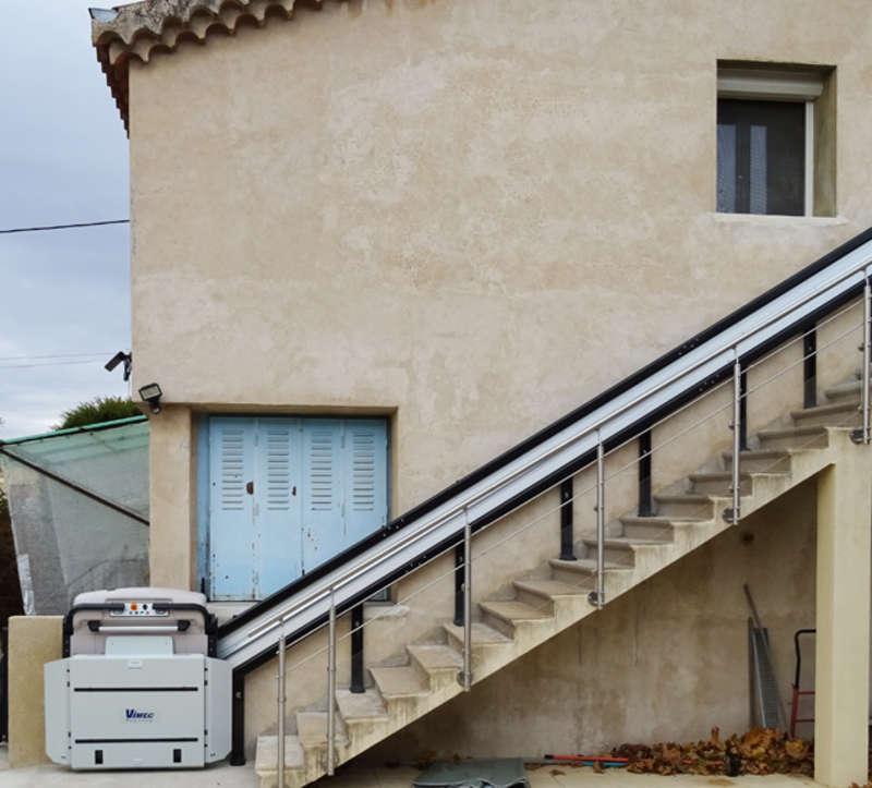 Plateforme monte-escalier V64 - CREST 26400