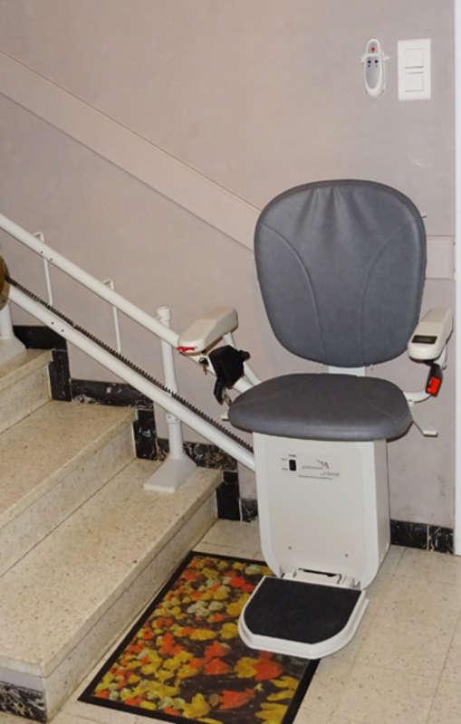 Chaise monte-escalier Curve - SAINT-MAURICE-L'EXIL 38550