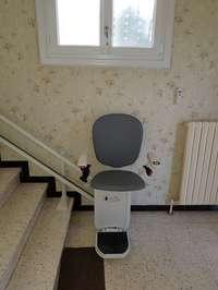 Siège Monte-Escalier CURVE  - PORTES-LES-VALENCE 26800