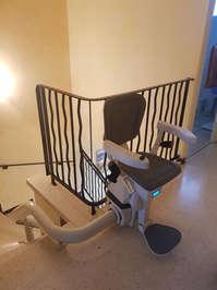 Chaise monte-escalier monorail ULTIMATE - GUILHERAND-GRANGES 07500