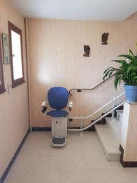Le Curve: Le fauteuil pour les escaliers courbés - CREST 26400