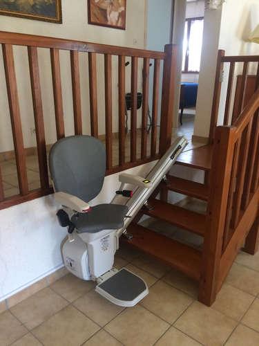 Monte escalier IBIZA pour une configuration droite - LES VANS 07140