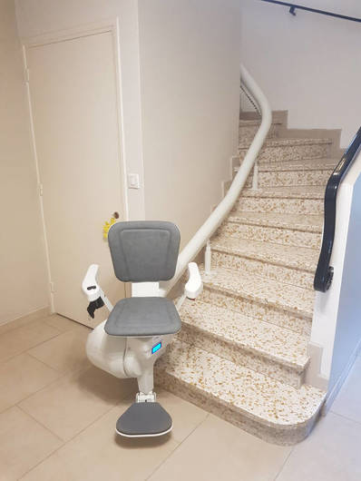 Chaise monte escalier tournant : Ultimate - BOURG-LES-VALENCE 26500