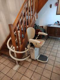 Accessibilité: monte escaliers tournant - SAINT-MARCELLIN 38160