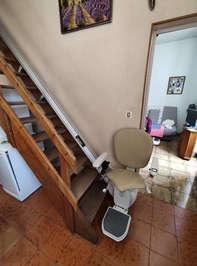 Fauteuil monte escalier rectiligne IBIZA - SAINT-MONTAN 07220