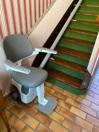 Monte escaliers sur mesure vers Grenoble - SILLANS 38590
