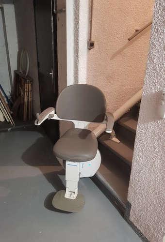 Chaise électrique tournante pour vos escaliers - SAINT-MARCEL-LES-VALENCE 26320