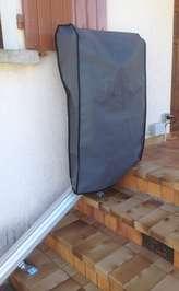 Monte-escalier droit Horizon Plus en extérieur - LES VANS 07140