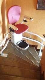 Monte-escalier tournant Curve - TAIN-L'HERMITAGE 26600