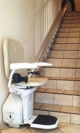 Chaise monte-escalier droit - SAINT-MARCELLIN 38160