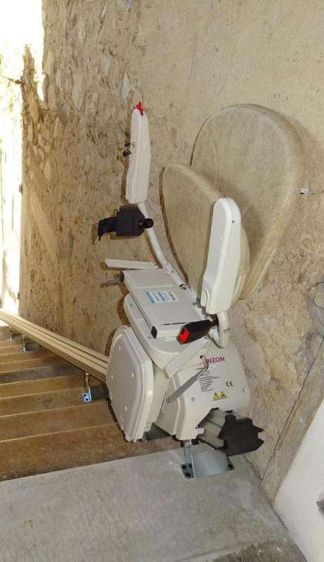 Monte-escalier Horizon Plus extérieur - MONTELIMAR 26200