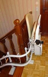 Fauteuil monte-escalier tournant sur 3 étages en intérieur - GUILHERAND-GRANGES 07500