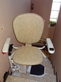 Chaise monte-escalier tournant Curve - MONTELIMAR 26200