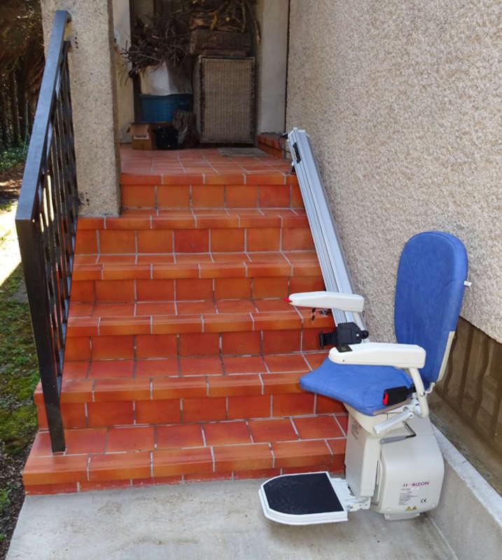 Monte-escalier Horizon extérieur - MONTELIER 26120